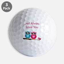 owl12 Golf Ball