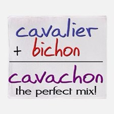 cavachon Throw Blanket