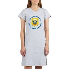 509th-Bomb-Wing-with-Text Women's Nightshirt