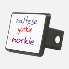 morkie_black Hitch Cover