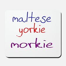 morkie_black Mousepad
