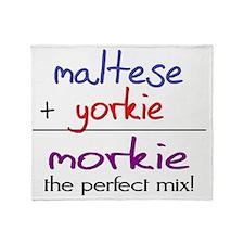 morkie Throw Blanket