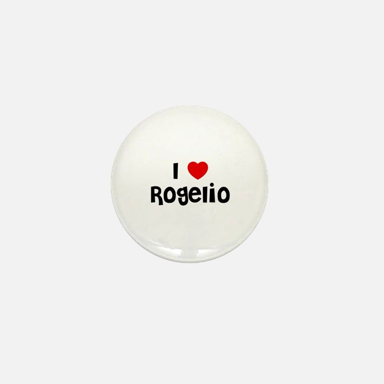 I * Rogelio Mini Button