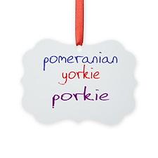 porkie_black Ornament