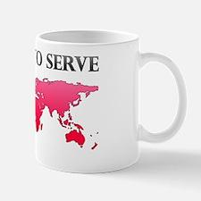 calledtoserveplainpink Mug