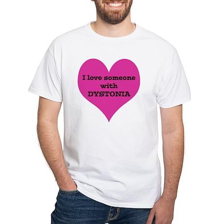 Heart_small White T-Shirt