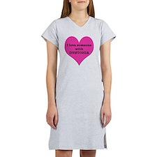 Heart_small Women's Nightshirt
