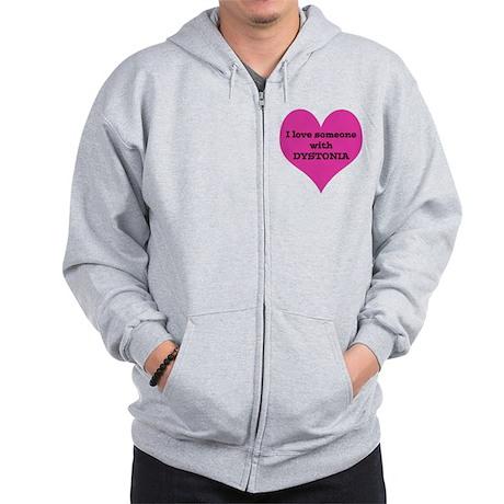 Heart_large Zip Hoodie