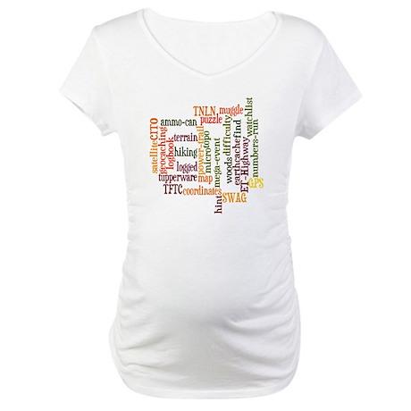 Geo_Cloud Maternity T-Shirt