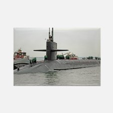 georgia ssbn framed panel print Rectangle Magnet
