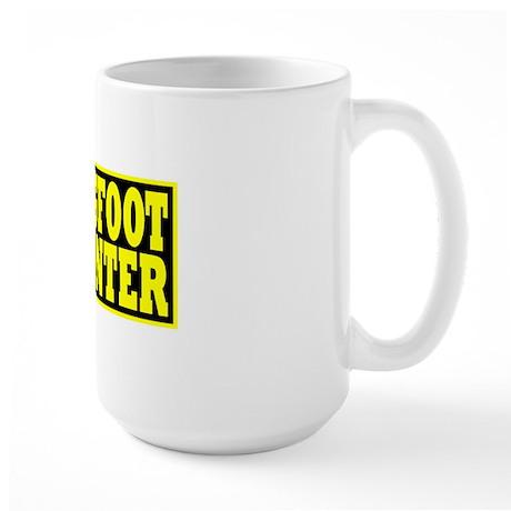 hunter yellow Large Mug