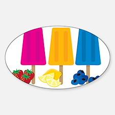 Popsicles Sticker (Oval)