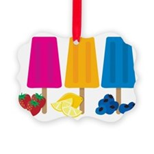 Popsicles Ornament