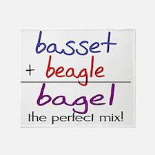 bagel Throw Blanket