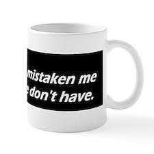 funny oh sorrydbump Mug