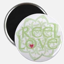 dark reel love for irish dance with heart b Magnet