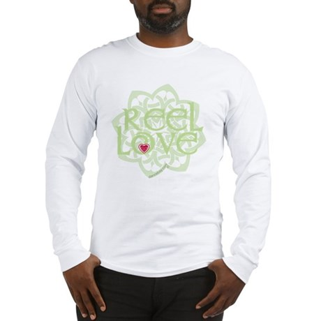 dark reel love for irish dance Long Sleeve T-Shirt