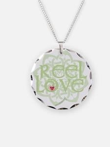 dark reel love for irish dan Necklace