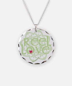 dark reel love for irish dan Necklace Circle Charm