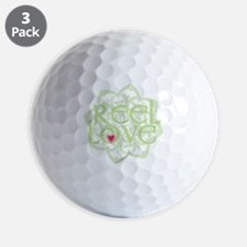 dark reel love for irish dance with hea Golf Ball
