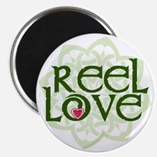 reel love for irish dance with heart and ce Magnet