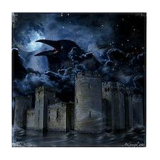 Raven Castle Tile Coaster