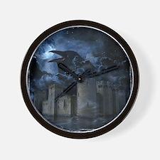 Raven Castle Wall Clock