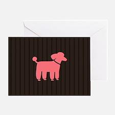 pnkpoodlebigbag Greeting Card