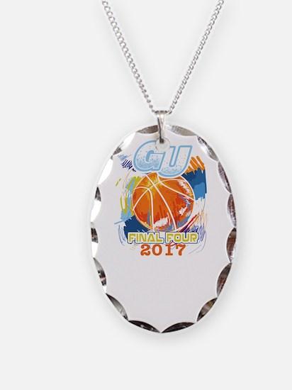 GU Final Four 2017 Basketball Necklace