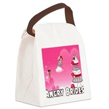 Angry Brides Canvas Lunch Bag