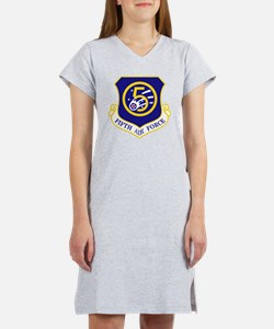 5th-Air-Force Women's Nightshirt