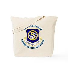 5th-Air-Force-txt Tote Bag
