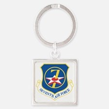 7th-air-force Square Keychain