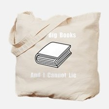 Big Books White Tote Bag