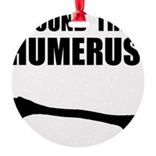 Humerus Black Ornament