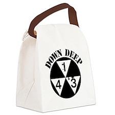 143 Down Deep Canvas Lunch Bag