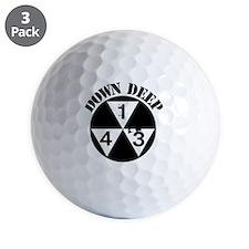 143 Down Deep Golf Ball