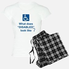 What does disabled look lik Pajamas
