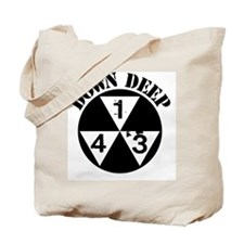 143 Down Deep Tote Bag