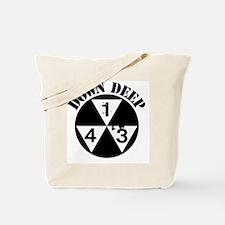 143 Down Deep Tote Bag