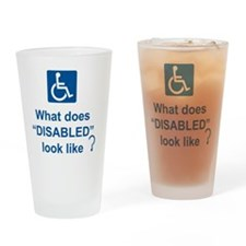 What does disabled look like? Drinking Glass