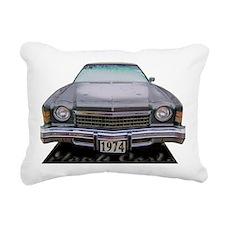Monte Carlo 74 Rectangular Canvas Pillow