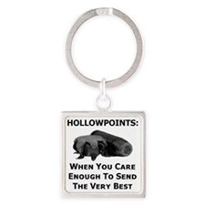 Art_Hollowpoints_When You Care Eno Square Keychain
