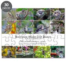 Backyard Babies Hummingbird Calendar Puzzle