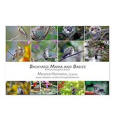 Backyard Babies Hummingbi Postcards (Package of 8)