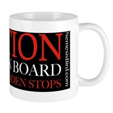 Caution Bird on Board Mug