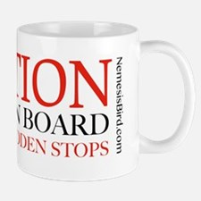 Caution Birder on Board Mug