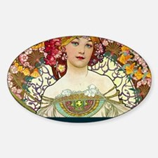 Mucha Cal Cover Decal