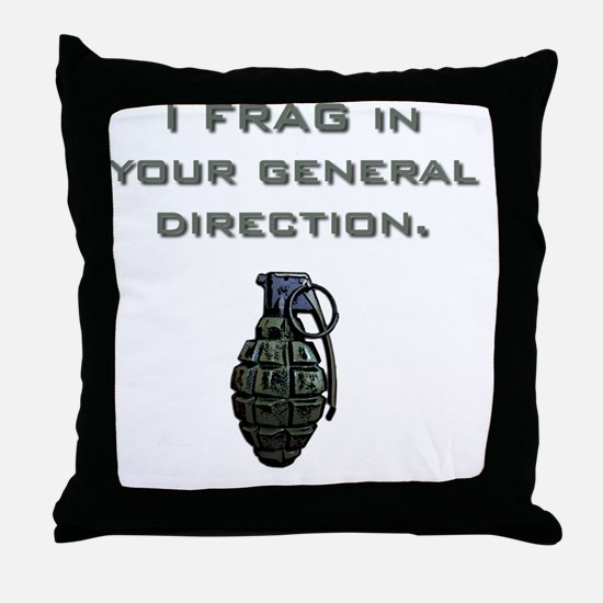 Frag Throw Pillow