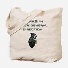 Frag Tote Bag